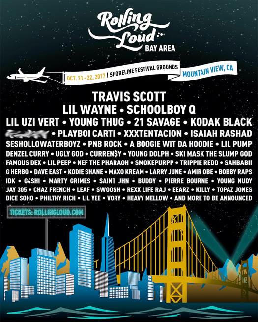 Lil Wayne To Headline The 2017 Bay Area Edition Of Rolling Loud Music Festival