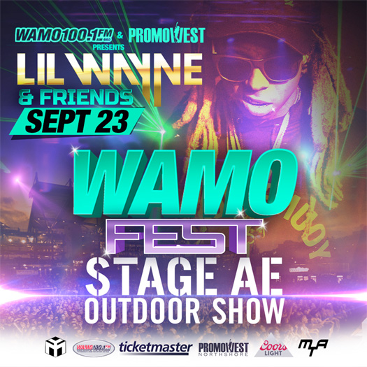 Lil Wayne To Headline The 2017 WAMO Fest In Pittsburgh Pennsylvania