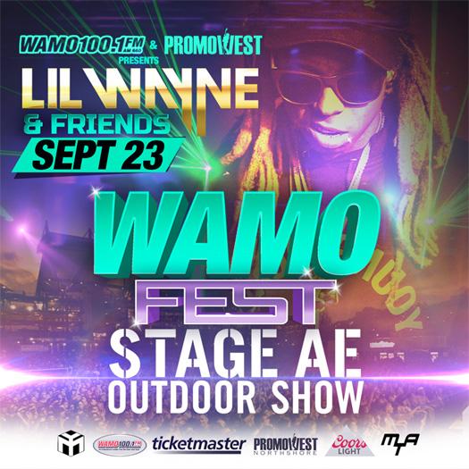 Lil Wayne To Headline The 2017 WAMO Fest In Pittsburgh Pennsylvania
