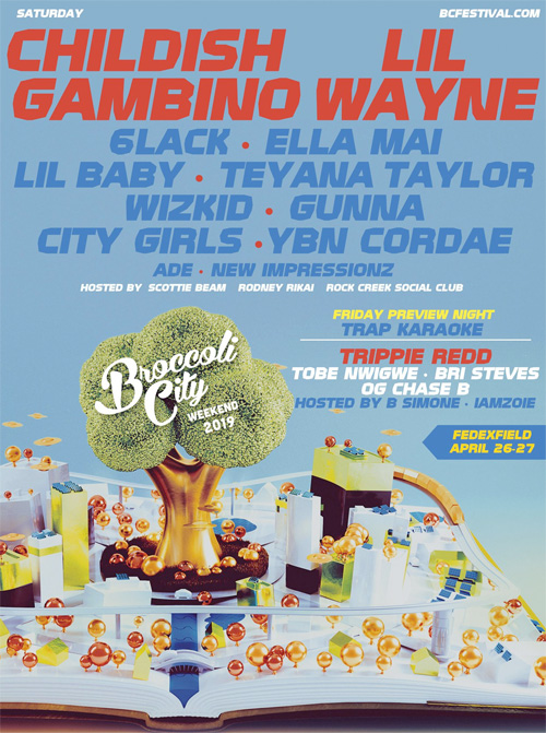 Lil Wayne To Headline 2019 Broccoli City Festival In Maryland