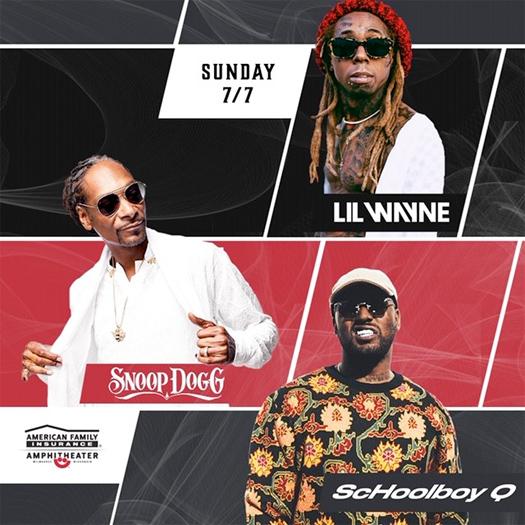 Lil Wayne To Headline 2019 Summerfest With Snoop Dogg & ScHoolboy Q