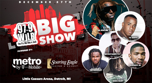 Lil Wayne To Headline 97.9 WJLB Big Show 2018 In Detroit