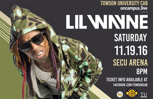 Lil Wayne To Headline Towson University 2016 Fall Fest In Maryland