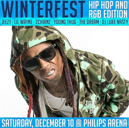 Lil Wayne To Headline V-103 2016 Winterfest Concert In Atlanta