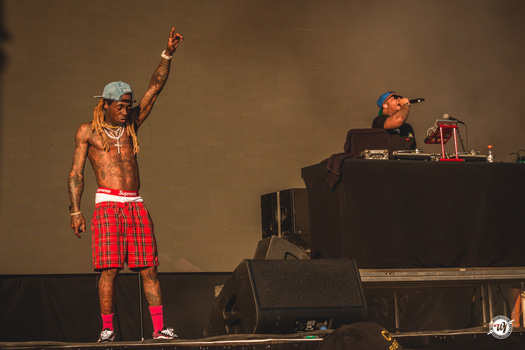 Lil Wayne Performs Live At The 2018 Firefly Music Festival In Dover