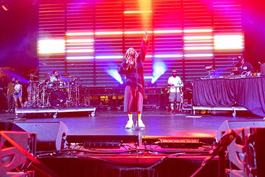 Lil Wayne Headlines Triller Fest In Miami - Pictures