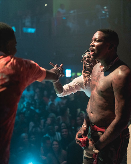 Lil Wayne Helps Celebrate Mack Maine Birthday At LIV With YG, Young Dolph & More