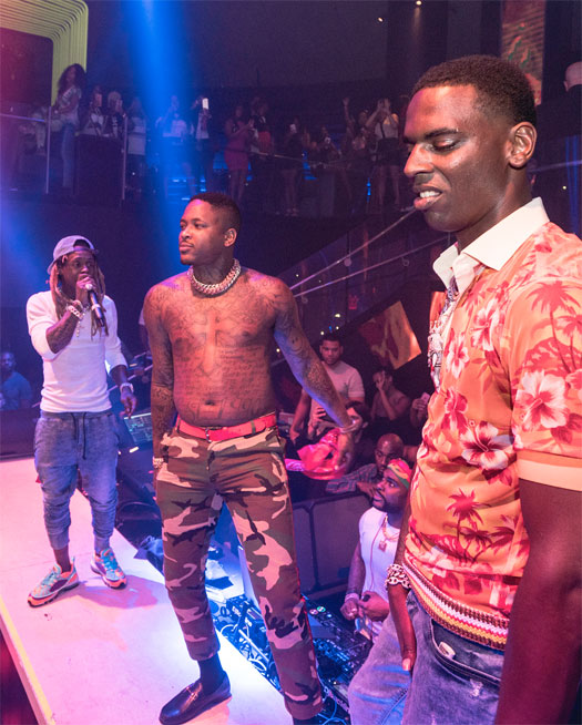Lil Wayne Performs Big Bank, 100 Shots, Steady Mobbin & More Songs Live With YG & Young Dolph