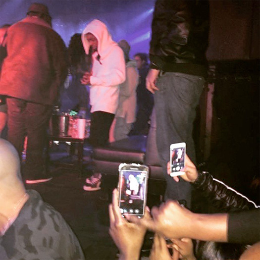 Lil Wayne Parties At The Highline Ballroom In New York City On Valentines Day