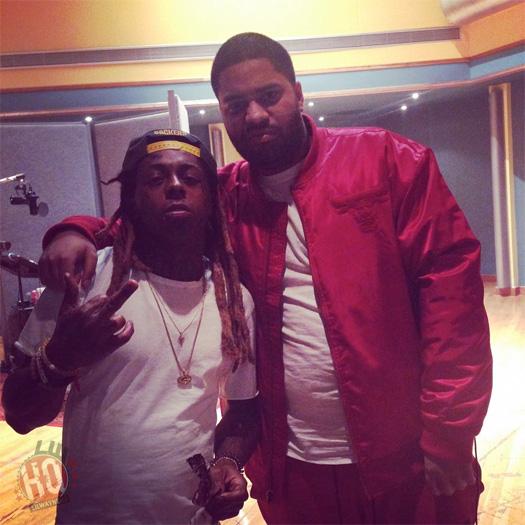 Lil Wayne Hits Up The Studio With Nicki Minaj, JR Writer & Fred Money