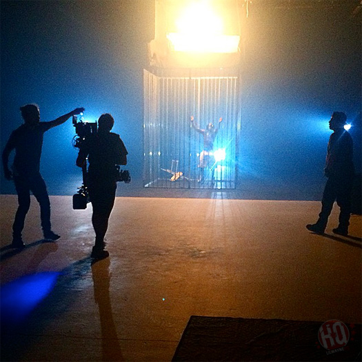 Lil Wayne Shoots A Visual For HollyWeezy