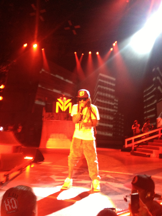Lil Wayne Performs Live In Holmdel On Americas Most Wanted Tour