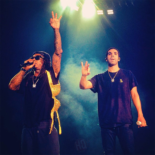 Front Row Footage Of Lil Wayne & Drake Performing Live In Holmdel New Jersey