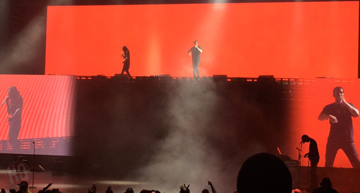Lil Wayne & Drake Perform Live In Holmdel New Jersey On Their Joint Tour
