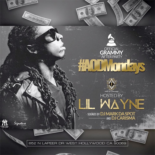 Lil Wayne To Host A Grammys After Party At Ace Of Diamonds LA Strip Club
