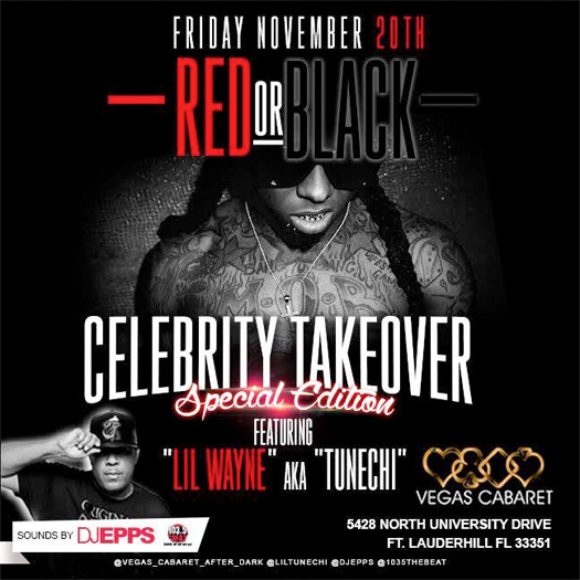 Lil Wayne To Host An Event At Vegas Cabaret Strip Club In Florida