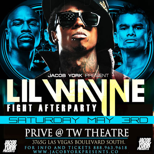 Lil Wayne To Host Floyd Mayweather vs Marcos Maidana Fight After-Party In Las Vegas