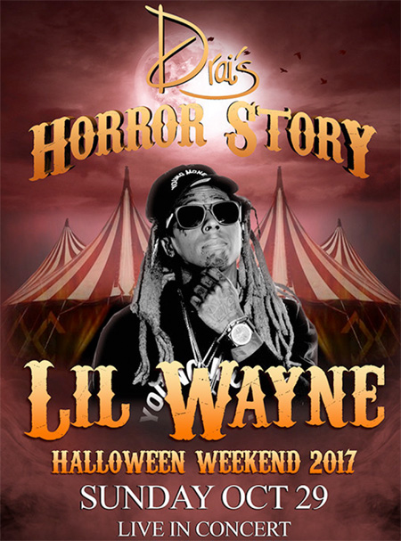 Lil Wayne To Host A Horror Story Party At Drais Nightclub In Las Vegas Over 2017 Halloween