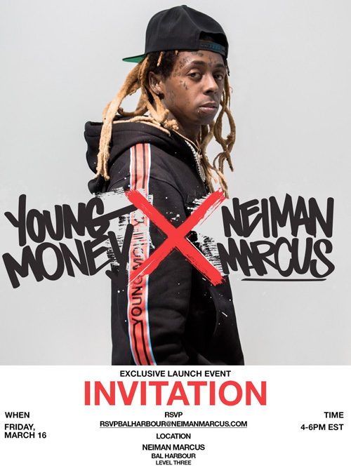 Lil Wayne To Host A Meet & Greet Session At Neiman Marcus Clothing Store In Miami