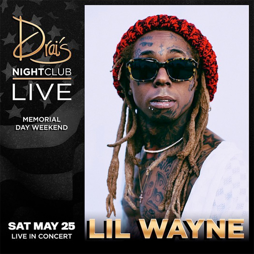 Lil Wayne To Host A Memorial Day Weekend Event In Las Vegas
