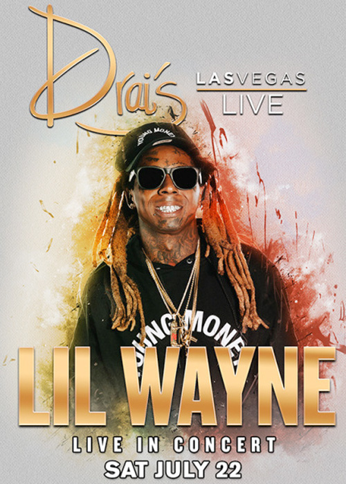 Lil Wayne To Host & Perform Live At Drais Nightclub In Las Vegas For The 5th Time This Year