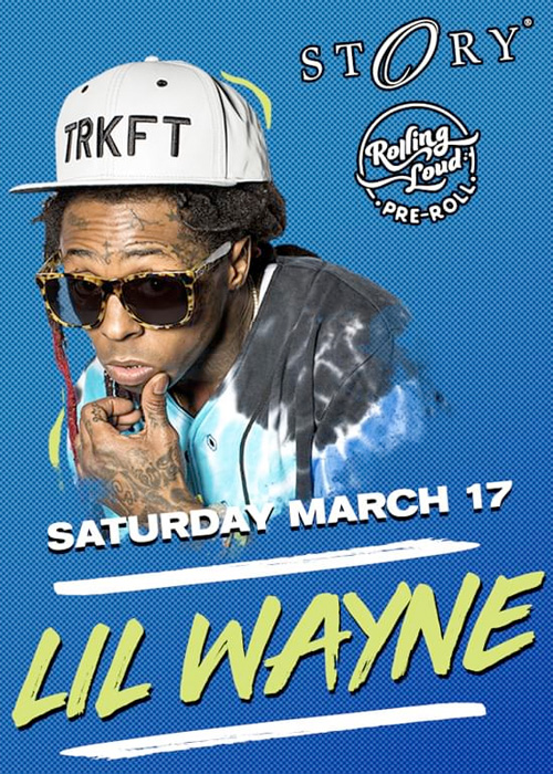 Lil Wayne To Host A Pre-Roll Rolling Loud Party In Miami