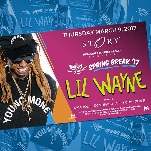 Lil Wayne To Host A Party At STORY Nightclub In Miami