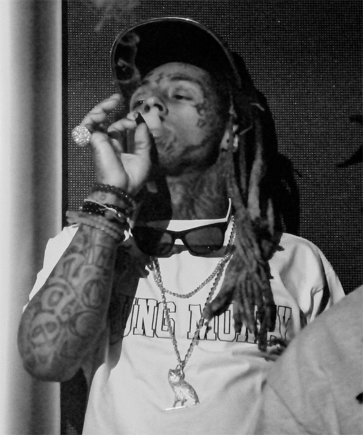 Lil Wayne Hosts An El Clasico Party At Ora Nightclub In Miami