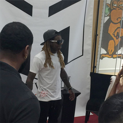 Lil Wayne Hosts A Pop Up Shop At Nouveau In New Orleans, Meets Fans