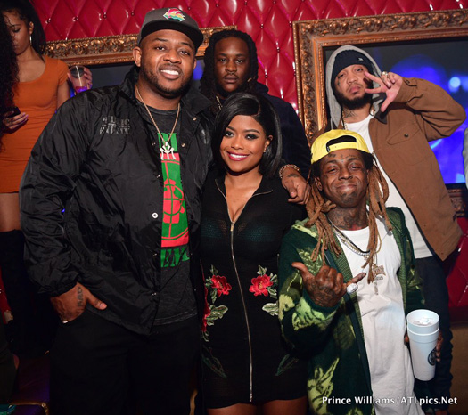 Lil Wayne Hosts A Winterfest After Party At Compound Nightclub In Atlanta