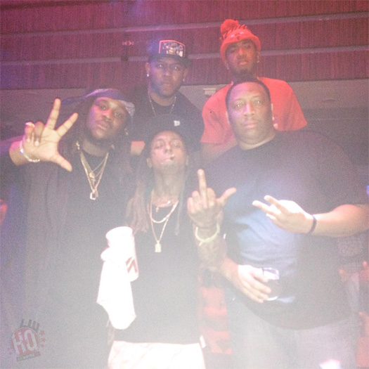 Lil Wayne Performs Hot Boy Remix, Duffle Bag Boy & More With Bankroll Fresh & 2 Chainz Live At LIV Nightclub In Miami