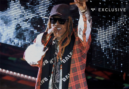 Lil Wayne Teams Up With TIDAL To Release I Aint Shit Without You Tour Documentary