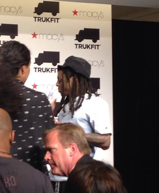 Lil Wayne Makes An In Store Appearance At Macys Inside Atlanta Lenox Square