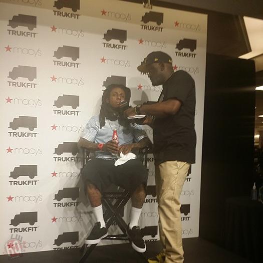 Lil Wayne Makes An In Store Appearance At Macys Inside Atlanta Lenox Square