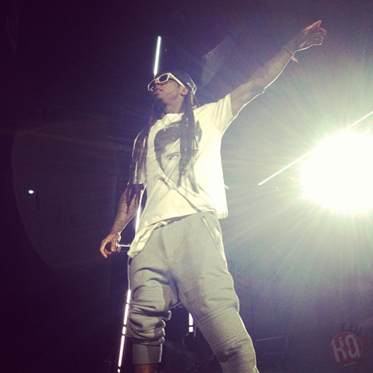 Lil Wayne Performs Live In Indianapolis On Americas Most Wanted Tour