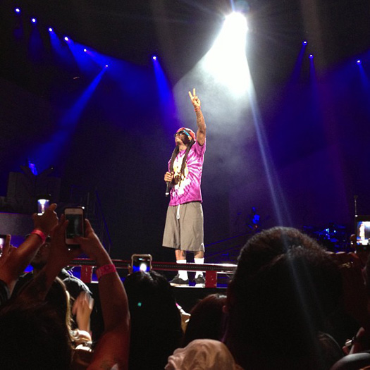 Lil Wayne Performs Live In Irvine On Americas Most Wanted Tour