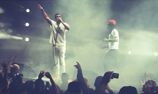 Lil Wayne & Drake Perform Live In Irvine California On Their Joint Tour