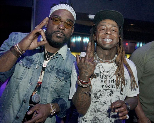 Lil Wayne Jams Out To Cardi B Bodak Yellow At LIV Nightclub In Miami