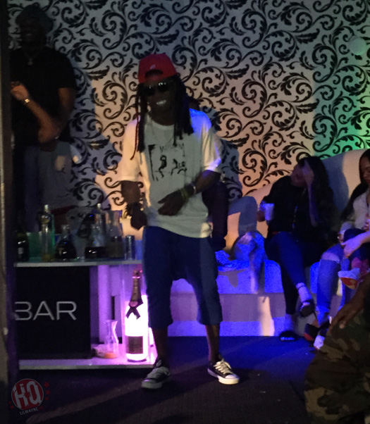 Lil Wayne Jams Out To Migos & Performs Live At Vada Nightclub In Cleveland Ohio
