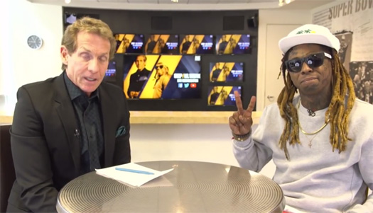 Skip Bayless Reveals Lil Wayne Was Involved In His Drip Bayless Nickname, Praises Wayne As A Person