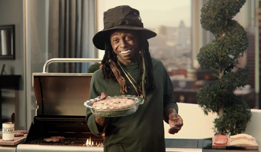 Lil Wayne & Jeff Goldblum Star In A Super Bowl Commercial With George Washington