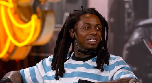 Lil Wayne Appears On Jimmy Kimmel Live, Talks Shooting Himself, Willie Nelson & More