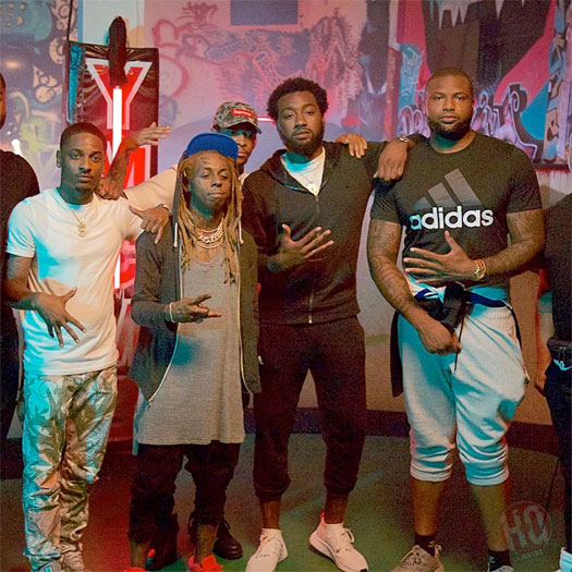 John Wall & Lil Wayne Shoot Videos For 30 Minutes To New Orleans & 6 Foot 7 Foot