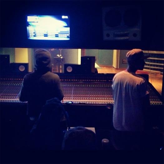 Lil Wayne & Justin Bieber Hit Up The Studio To Work On Music