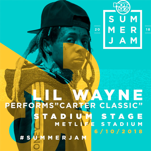 Lil Wayne & Kendrick Lamar To Headline Hot 97 2018 Summer Jam Music Festival
