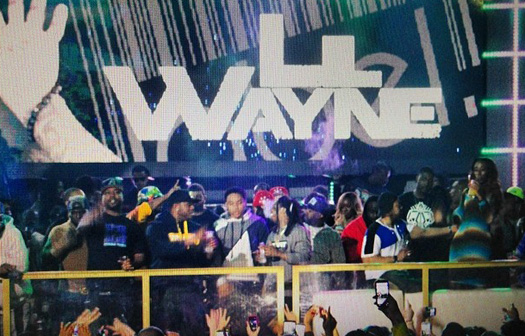 Lil Wayne Parties At Label Nightclub In Charlotte For CIAA Weekend
