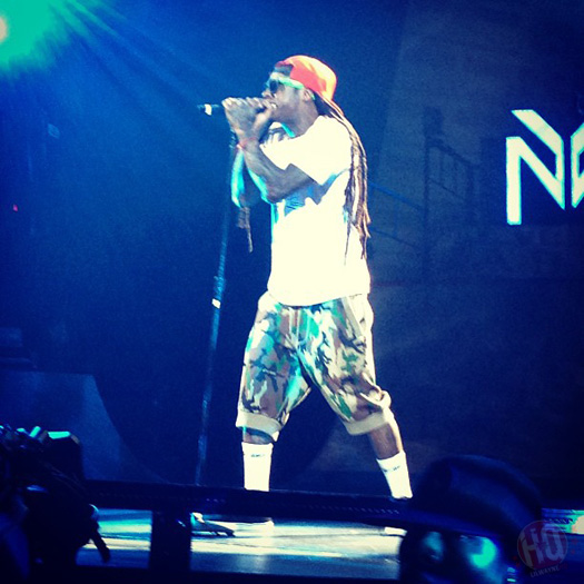 Lil Wayne Performs Live In Las Vegas On Americas Most Wanted Tour