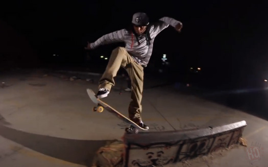 Lil Wayne Goes On A Late Night Skating Session In The Streets Of California