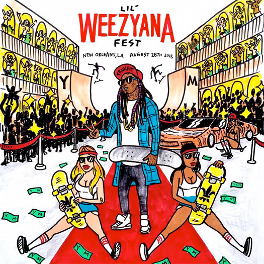 Lil Wayne Announces First Annual Lil Weezyana Fest In His Hometown New Orleans