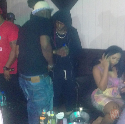 Lil Wayne Attends & Performs Live At Limelight In Nashville Tennessee With Young Buck